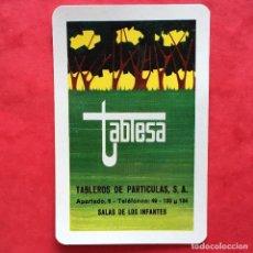 Collezionismo Calendari: CALENDARIO BOLSILLO HERACLIO FOURNIER - PUBLICIDAD TABLESA TABLEROS PARTICULAS - 1973. Lote 206342803