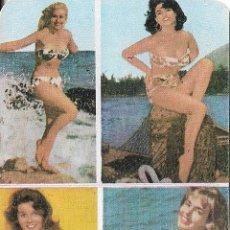 Coleccionismo Calendarios: CALENDARIO CERVEZA LA ZARAGOZANA 1967 - BAÑISTAS. Lote 116837467
