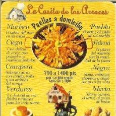 Coleccionismo Calendarios: CALENDARIO PUBLICIDAD - 1997 - LA CASITA DE LOS ARROCES. Lote 206829163