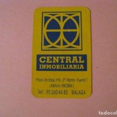 Coleccionismo Calendarios: CALENDARIO CENTRAL INMOBILIARIA. MALAGA. 1999. SERIGRAFIA.. Lote 207134303