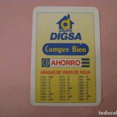 Coleccionismo Calendarios: CALENDARIO GRUPO DIGSA. 1992.. Lote 207134753