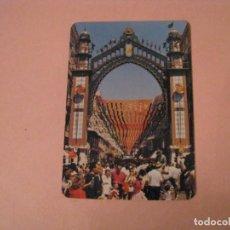 Coleccionismo Calendarios: CALENDARIO IMAGEN FERIA DE MALAGA, CALLE LARIOS. PUBL. LIBRERIA CERVANTES. MALAGA. 1998.. Lote 207136017