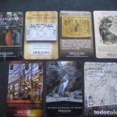 Coleccionismo Calendarios: 7 CALENDARIOS HERALDO DE ARAGON 2012 - 13 - 14 - 15 - 16 - 18 - 19. Lote 207192390