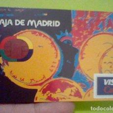 Coleccionismo Calendarios: FOURNIER CALENDARIO PUBLICIDAD CAJA MADRID VISA CASH 1998. Lote 207231532