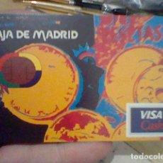 Coleccionismo Calendarios: FOURNIER CALENDARIO PUBLICIDAD CAJA MADRID VISA CASH 1998 *. Lote 207231546