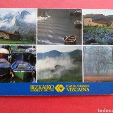 Coleccionismo Calendarios: CALENDARIO FOURNIER CAJA DE AHORROS VIZCAINA 1989. Lote 207265882