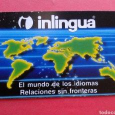 Coleccionismo Calendarios: CALENDARIO FOURNIER INLINGUA 1992. Lote 207266098