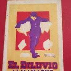 Coleccionismo Calendarios: 1924 EL DILUVIO ALMANAQUE. Lote 207338498