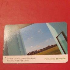 Coleccionismo Calendarios: PAMPLONA EN VERDE * ESTACIÓN DE AUTOBUSES SUBTERRÁNEA. 2008. Lote 207339162