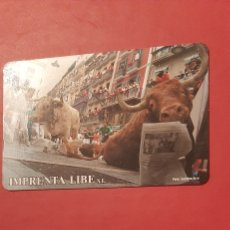 Coleccionismo Calendarios: ENCIERRO SAN FERMIN PAMPLONA 2008. Lote 207339415