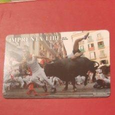 Coleccionismo Calendarios: ENCIERRO SAN FERMIN PAMPLONA 2009. Lote 207339486