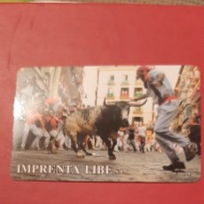 Coleccionismo Calendarios: ENCIERRO SAN FERMIN PAMPLONA 2010. Lote 207339555