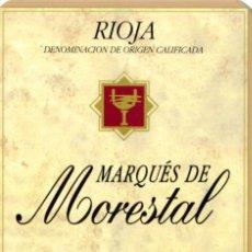Coleccionismo Calendarios: CALENDARIO DE PUBLICIDAD 1997 MARQUES DE MORESTAL. Lote 208307627