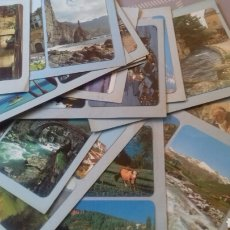 Coleccionismo Calendarios: COLECCIÓN 76 CALENDARIOS PUBLICITARIOS DE BOLSILLO AÑOS 80 PEGADOS EN CARTULINA. Lote 208417120