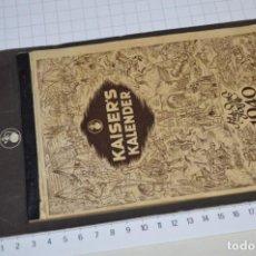 Coleccionismo Calendarios: VINTAGE - ALMANAQUE / CALENDARIO AÑO 1940 - CAFÉ/BAR EMPERADOR - KAISER´S KALENDER 1940 ¡MIRA!. Lote 209674580