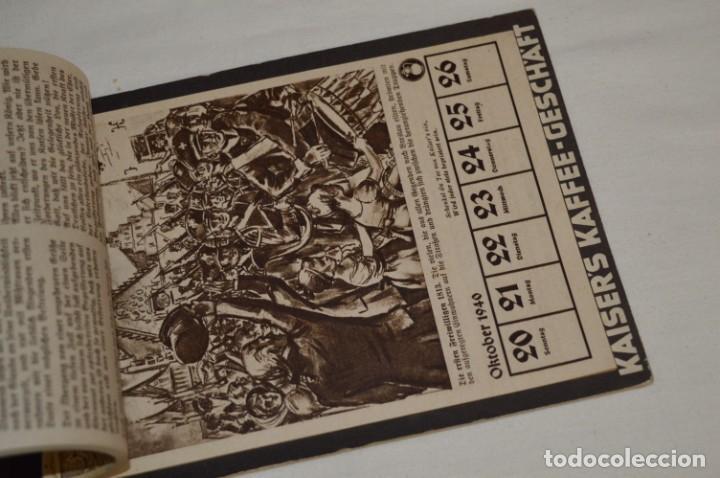 Coleccionismo Calendarios: Vintage - Almanaque / Calendario AÑO 1940 - CAFÉ/BAR EMPERADOR - KAISER´S KALENDER 1940 ¡MIra! - Foto 3 - 209674580