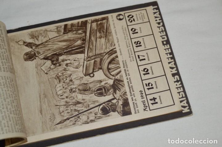Coleccionismo Calendarios: Vintage - Almanaque / Calendario AÑO 1940 - CAFÉ/BAR EMPERADOR - KAISER´S KALENDER 1940 ¡MIra! - Foto 5 - 209674580