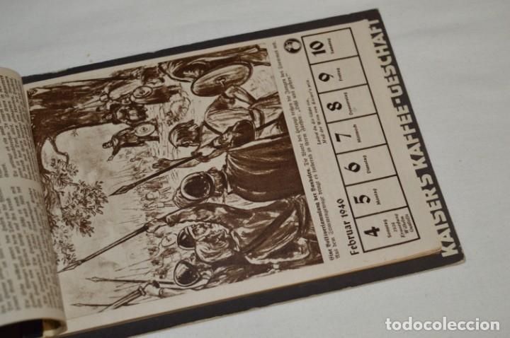 Coleccionismo Calendarios: Vintage - Almanaque / Calendario AÑO 1940 - CAFÉ/BAR EMPERADOR - KAISER´S KALENDER 1940 ¡MIra! - Foto 7 - 209674580