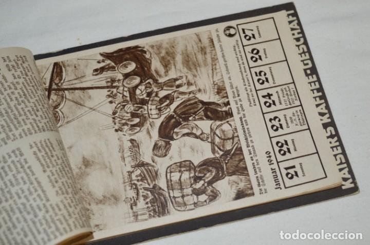 Coleccionismo Calendarios: Vintage - Almanaque / Calendario AÑO 1940 - CAFÉ/BAR EMPERADOR - KAISER´S KALENDER 1940 ¡MIra! - Foto 8 - 209674580