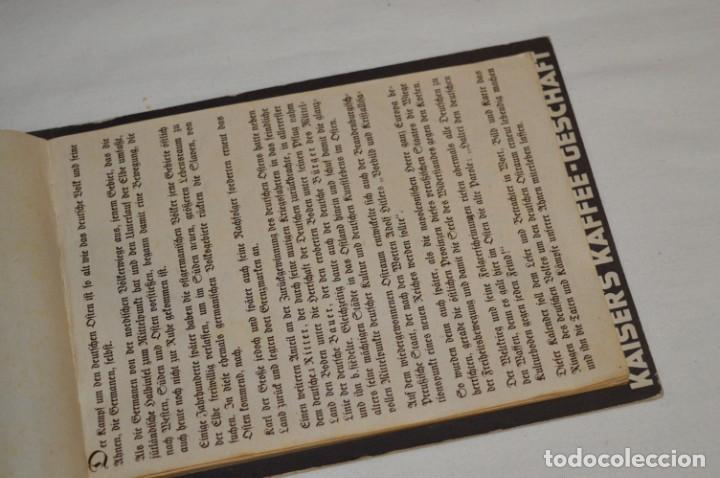 Coleccionismo Calendarios: Vintage - Almanaque / Calendario AÑO 1940 - CAFÉ/BAR EMPERADOR - KAISER´S KALENDER 1940 ¡MIra! - Foto 9 - 209674580