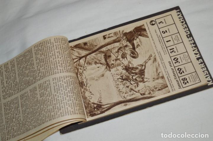 Coleccionismo Calendarios: Vintage - Almanaque / Calendario AÑO 1940 - CAFÉ/BAR EMPERADOR - KAISER´S KALENDER 1940 ¡MIra! - Foto 12 - 209674580