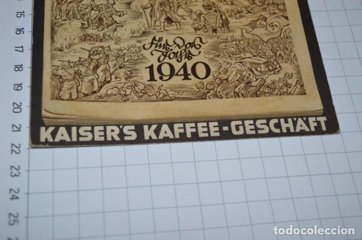 Coleccionismo Calendarios: Vintage - Almanaque / Calendario AÑO 1940 - CAFÉ/BAR EMPERADOR - KAISER´S KALENDER 1940 ¡MIra! - Foto 17 - 209674580