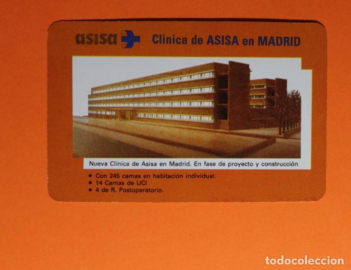 CALENDARIO DE BOLSILLO. FOURNIER. CLINICA DE ASISA. NUEVA CLINICA EN MADRID. AÑO 1992. (Coleccionismo - Calendarios)