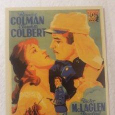 Coleccionismo Calendarios: -77985 CALENDARIO PELICULA BAJO DOS BANDERAS, AÑO 2008, CON PUBLICIDAD, CINE, EMISION PARTICULAR. Lote 246367250