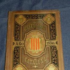 Coleccionismo Calendarios: (MF) CALENDARIO CATALUÑA - CALENDARIO PARA EL AÑO BISIESTO 1880 SUCESORES N RAMIREZ Y CIA. Lote 210942727