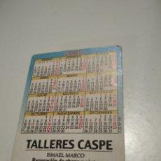 Coleccionismo Calendarios: TALLERES CASPE CALENDARIO CHICAS ZARAGOZA. Lote 211623926
