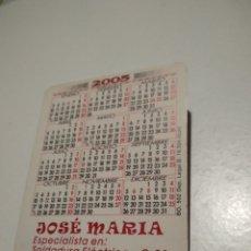 Coleccionismo Calendarios: CALENDARIO CHICAS JOSÉ MARÍA, SOLDADURA ELECTRICA CALENDARIO CHICAS. Lote 211624025