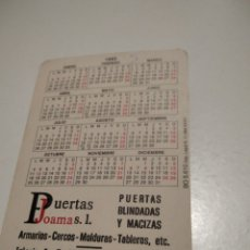 Coleccionismo Calendarios: PUERTAS JOAMA COSLADA CALENDARIO CHICAS MADRID. Lote 211626881