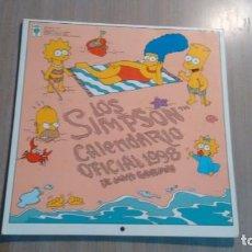 Coleccionismo Calendarios: CALENDARIO LOS SIMPSON - AÑO 1998 -. Lote 211629455