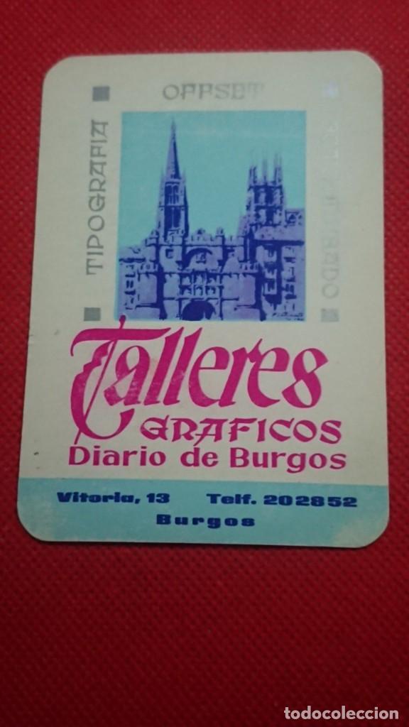 CALENDARIO DIARIO DE BURGOS AÑO 1968 (Coleccionismo - Calendarios)