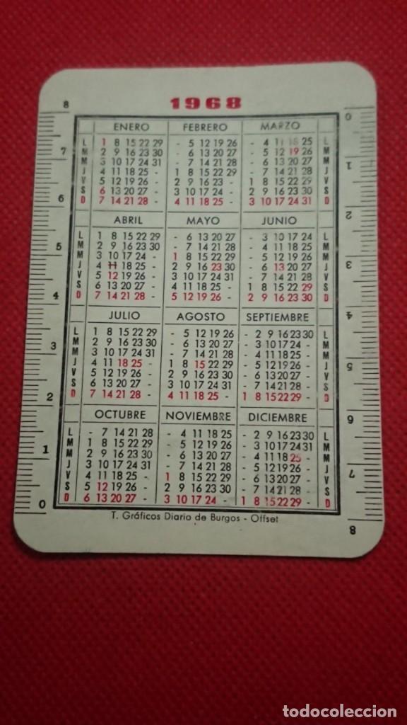 Coleccionismo Calendarios: CALENDARIO DIARIO DE BURGOS AÑO 1968 - Foto 2 - 211730330