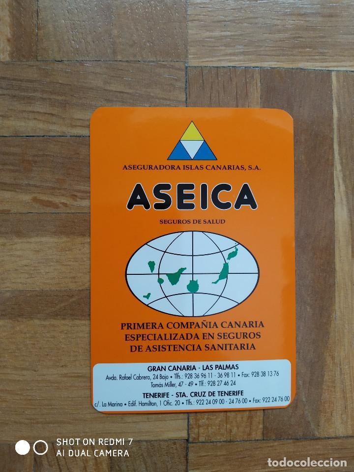CALENDARIO DE SEGUROS. ASEICA. ASEGURADORA ISLAS CANARIAS. SEGUROS DE SALUD AÑO 2000. VER FOTO A (Coleccionismo - Calendarios)