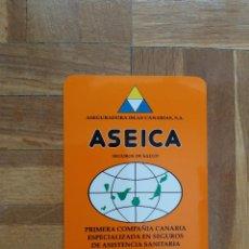 Coleccionismo Calendarios: CALENDARIO DE SEGUROS. ASEICA. ASEGURADORA ISLAS CANARIAS. SEGUROS DE SALUD AÑO 2000. VER FOTO A. Lote 211730379