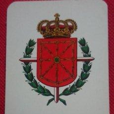 Coleccionismo Calendarios: CALENDARIO ESCUDO DIPUTACION FORAL DE NAVARRA AÑO 1972. Lote 211730809