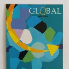 Coleccionismo Calendarios: CALENDARIO DE AUTOBUSES GLOBAL. EMPRESA DE TRANSPORTES INTERURBANO EN GRAN CANARIA AÑO 2002. Lote 211730979