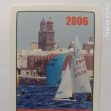 Coleccionismo Calendarios: CALENDARIO DE BOLSILLO REAL CLUB NÁUTICO DE GRAN CANARIA.H. FOURNIER AÑO 2006. Lote 211732553