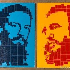 Coleccionismo Calendarios: FIDEL CASTRO Y CAMILO CIENFUEGOS. 2 CALENDARIOS DE 1981. ICAP (PROGRAMA AMIGOS DE CUBA).. Lote 212079721