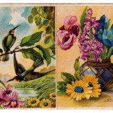 Coleccionismo Calendarios: BELLO CALENDARIO DÍPTICO. SANTORAL. CEREGUMIL FERNANDEZ. AÑO 1936. GUERRA CIVIL. AA. Lote 212998585