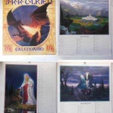 Coleccionismo Calendarios: CALENCARIO J.R.R. TOLKIEN 1996. NASMITH TED (ILUSTRADOR). Lote 213262005