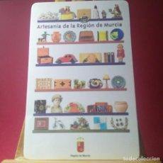 Coleccionismo Calendarios: CALENDARIO DE BOLSILLO -ARTESANIA DE LA REGION DE MURCIA 2001 -T2. Lote 213273026