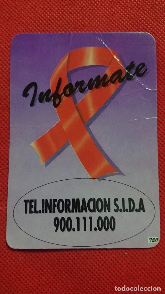 CALENDARIO TELÉFONO INFORMACIÓN. SIDA AÑO 1994 (Coleccionismo - Calendarios)