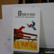 Coleccionismo Calendarios: CALENDARIO FOURNIER AÑO 1966 BANCO DE BILBAO. Lote 213762543