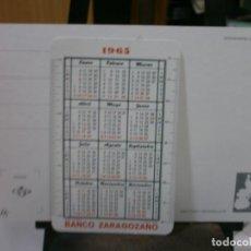 Coleccionismo Calendarios: CALENDARIO FOURNIER AÑO 1966 BANCO ZARAGOZANO. Lote 213762772