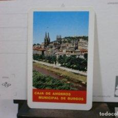 Coleccionismo Calendarios: CALENDARIO FOURNIER AÑO 1967 CAJA DE AHORROS MUNICIPAL DE BURGOS. Lote 213766072