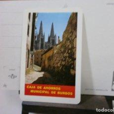 Coleccionismo Calendarios: CALENDARIO FOURNIER AÑO 1967 CAJA DE AHORROS MUNICIPAL DE BURGOS. Lote 213766150