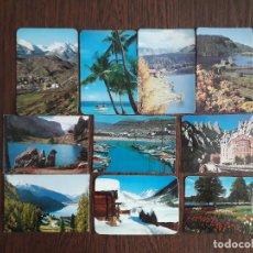 Coleccionismo Calendarios: LOTE DE 10 CALENDARIOS DE SERIE DE PAISAJES Y MONUMENTOS AÑO 1981. Lote 214153342